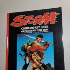 Cómics: COMIC STORM SPECIAL: COMMANDANT GREK GEVANGENEN VAN DE TIJD-1986 TAPA DURA. Lote 267724454