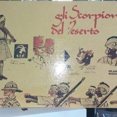 Cómics: HUGO PRATT. GLI SCORPIONI DEL DESERTO NRO.1 . PRIMERA EDICION 1975 .ENUMERADA EN ITALIANO .NRO 3575. Lote 267850434