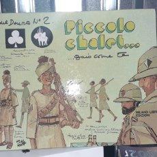 Cómics: HUGO PRATT. GLI SCORPIONI DEL DESERTO NRO.2 . PRIMERA EDICION 1976 .ENUMERADA EN ITALIANO .NRO 2100. Lote 267850459