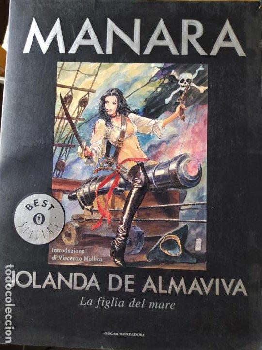 Cómics: 2 comics de Milo Manara, en italiano, Il Gioco 1 y Jolanda de almaviva. - Foto 3 - 269251043