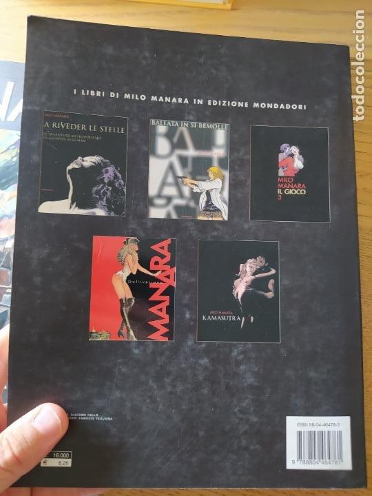 Cómics: 2 comics de Milo Manara, en italiano, Il Gioco 1 y Jolanda de almaviva. - Foto 4 - 269251043