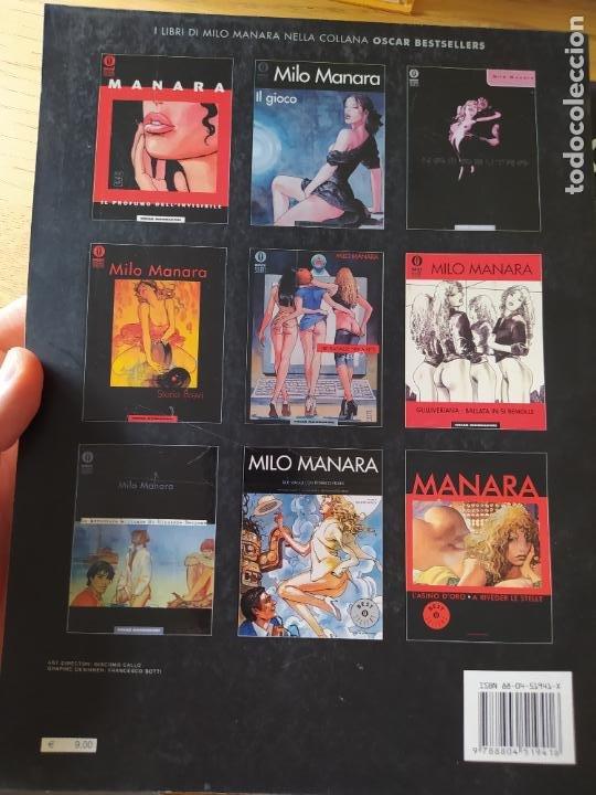 Cómics: 2 comics de Milo Manara, en italiano, Il Gioco 1 y Jolanda de almaviva. - Foto 5 - 269251043