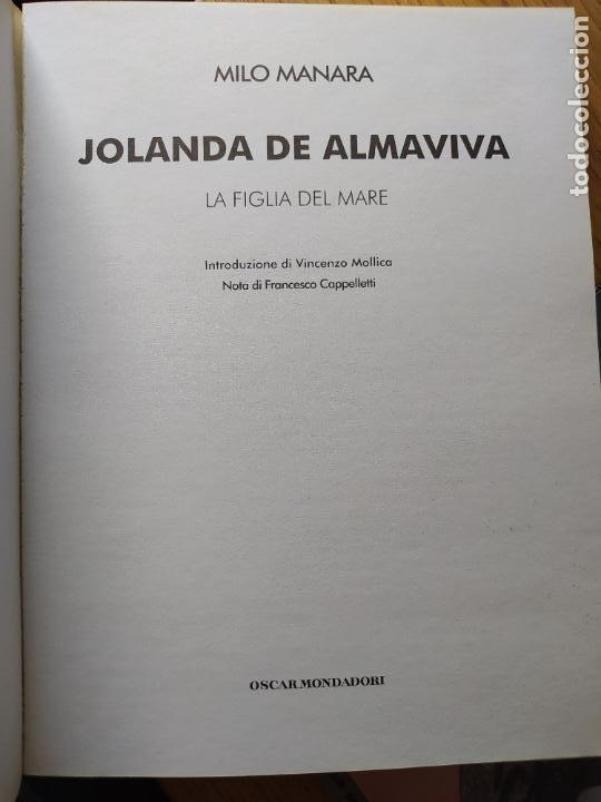 Cómics: 2 comics de Milo Manara, en italiano, Il Gioco 1 y Jolanda de almaviva. - Foto 6 - 269251043