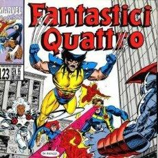 Cómics: FANTASTICI QUATTRO N.123 - ED. MARVEL ITALIA - MARVEL ITALIA. Lote 269840423
