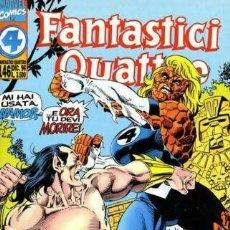 Cómics: FANTASTICI QUATTRO N.146 - ED. MARVEL ITALIA - MARVEL ITALIA. Lote 269840453
