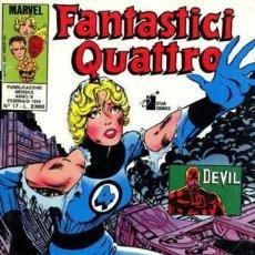 Cómics: FANTASTICI QUATTRO ANNO III N.17 - ED. STAR COMICS - ED. STAR COMICS. Lote 269840493