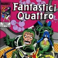 Cómics: FANTASTICI QUATTRO ANNO IV N.57 - ED. STAR COMICS - ED. STAR COMICS. Lote 269840508