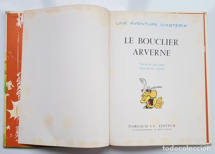 Cómics: ASTERIX - LE BOUCLIER ARVERNE - 1ª EDICION 1968 - GOSCINNY&UDERZO - DARGAUD - Foto 3 - 270134308