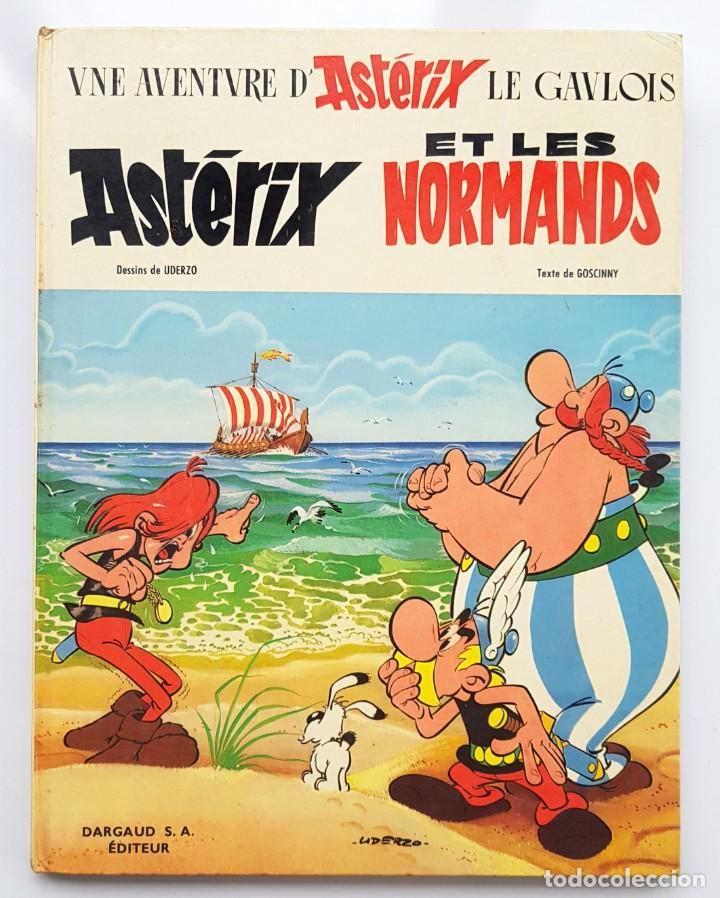 ASTERIX ET LES NORMANDS - GOSCINNY&UDERZO - DARGAUD 1967 (Tebeos y Comics - Comics Lengua Extranjera - Comics Europeos)