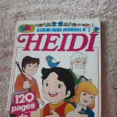 Cómics: HEIDI - ALBUM HEIDI JOURNAL N7. Lote 270144513