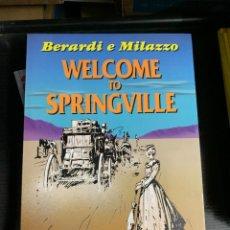 Cómics: WELCOME TO SPRINGVILLE, DE BERARDI Y MILAZZO. EN ITALIANO, GRAN FORMATO. Lote 270162023