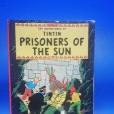 Cómics: THE AVENTURES OF TINTIN PRISIONERS OF THE SUN. EDICIONES DEL PRADO. HERGE. 1962. PAGS. 62.. Lote 270694298