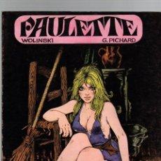 Comics : PAULETTE. WOLINSKI - G. PICHARD. EDITIONS DU SQUARE. 1971. EN FRANCES. Lote 274198478