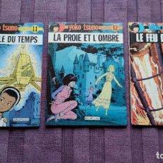 Cómics: YOKO TSUNO 11-12-14 EN FRANCÉS.. Lote 275497578