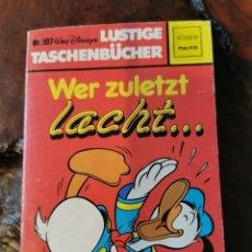 Cómics: WALT DISNEY - Nº 107 - LUSTIGE TASCHENBÜCHER - WER ZULETZT - EHAPA 1985 / ALEMAN. Lote 275754078