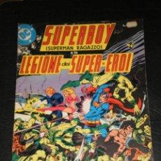 Cómics: SUPERBOY – LEGIONE DEI SUPER EROI – EDICION ITALIANA – DC 1979. Lote 276176463