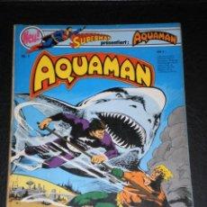 Cómics: SUPERMAN PRÄSENTIERT: AQUAMAN –Nº 1 –IDIOMA ALEMAN –COPYRIGHT 1976. Lote 276203473