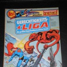 Cómics: SUPERMAN PRÄSENTIERT: GERENCHTIGKEITS LIGA –Nº 1 –IDIOMA ALEMAN –COPYRIGHT 1976. Lote 276203868