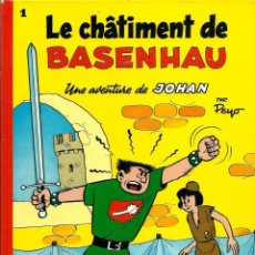 Cómics: PEYO - JOHAN ET PIRLOUIT Nº 1 - LE CHATIMENT DE BASENHAU - DUPUIS 1981 - EN FRANCES - MUY BUENO. Lote 276376113