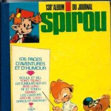 Cómics: 138E ALBUM DE JOURNAL SPIROU - DUPUIS 1976 - INCLUYE Nº 1944 A 1954 DEL JOURNAL DE SPIROU EN FRANCES. Lote 276379118