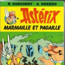 Fumetti: ASTERIX - MARMAILLE ET PAGAILLE, ED. G.P. COL. ROUGE ET OR Nº 5 1983, EN FRANCES, INEDITO EN ESPAÑOL. Lote 276381083