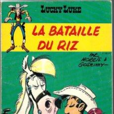 Cómics: LUCKY LUKE HORS DE SERIE - LA BATAILLE DU RIZ - OFFERT PER TOTAL - PEG 1972, EDITION ORIGINALE E.O.. Lote 276404203