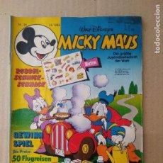 Cómics: TEBEO EN ALEMAN~ MICKY MAUS ~ N° 36 , CON PUBLICIDAD , 1984 (ENVIO ORDINARIO GRATIS). Lote 276995043