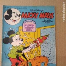 Cómics: TEBEO EN ALEMAN~ MICKY MAUS ~ N° 39 , CON PUBLICIDAD , 1979 (ENVIO ORDINARIO GRATIS). Lote 276995683