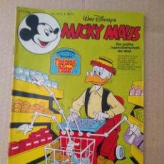 Cómics: TEBEO EN ALEMAN~ MICKY MAUS ~ N° 14 , CON PUBLICIDAD , 1979 (ENVIO ORDINARIO GRATIS). Lote 277007858