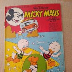 Cómics: TEBEO EN ALEMAN~ MICKY MAUS ~ N° 31 , CON PUBLICIDAD , 1977 (ENVIO ORDINARIO GRATIS). Lote 277016173
