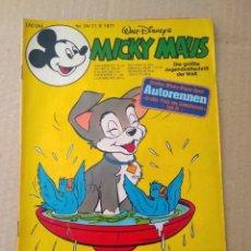 Cómics: TEBEO EN ALEMAN~ MICKY MAUS ~ N° 24 , CON PUBLICIDAD , 1977 (ENVIO ORDINARIO GRATIS). Lote 277022663