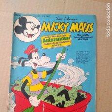 Cómics: TEBEO EN ALEMAN~ MICKY MAUS ~ N° 23 , CON PUBLICIDAD , 1977 (ENVIO ORDINARIO GRATIS). Lote 277023618