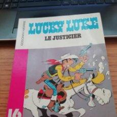 Cómics: GOSCINNY - MORRIS - LUCKY LUKE LE JUSTICIER - DARGAUD 1980 - 16/22 NÚM. 72 - ORIGINAL FRANCÉS. Lote 277026213