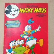 Cómics: TEBEO EN ALEMAN~ MICKY MAUS ~ N° 3 , CON PUBLICIDAD , 1977 (ENVIO ORDINARIO GRATIS). Lote 277053943