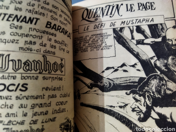 Cómics: Lote de 6 álbumes de cómics Franceses años 60 varios personajes - Foto 2 - 277088398