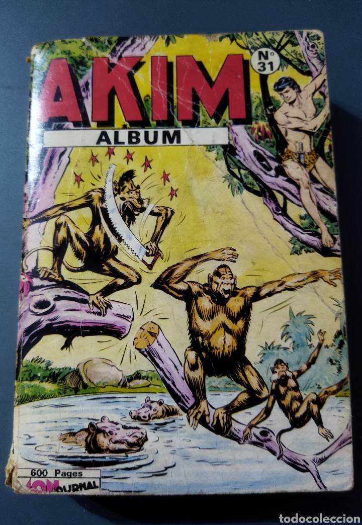 Cómics: Lote de 6 álbumes de cómics Franceses años 60 varios personajes - Foto 3 - 277088398