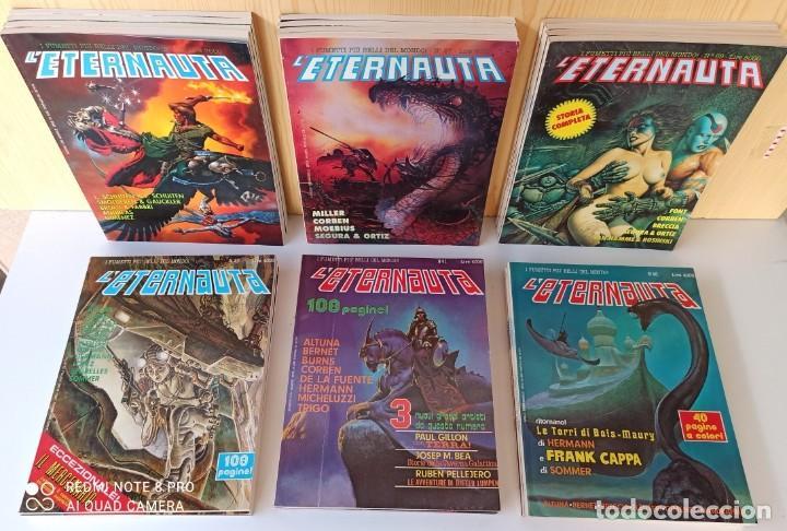 L'ETERNAUTA - COLECCIÓN EN ITALIANO - 24 NUMEROS (Tebeos y Comics - Comics Lengua Extranjera - Comics Europeos)