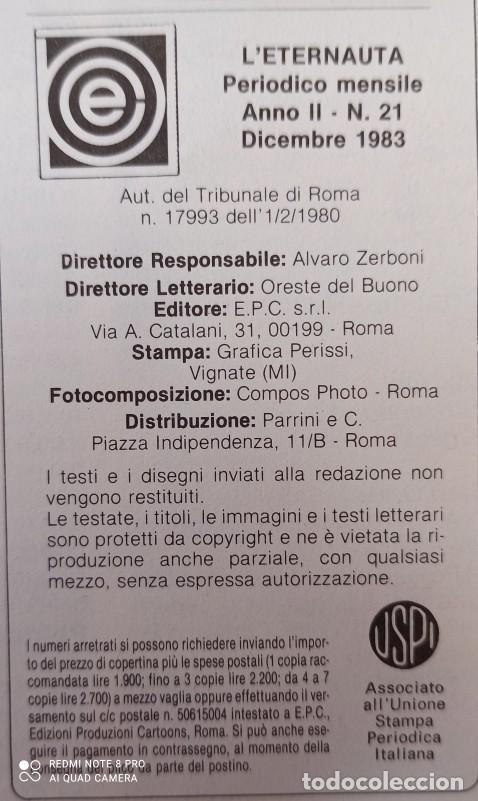 Cómics: LETERNAUTA - COLECCIÓN EN ITALIANO - 24 NUMEROS - Foto 7 - 277137253