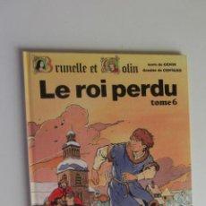 Cómics: BRUNELLE ET COLIN 6 LE ROI PERDU TAPA DURA EN FRANCES. Lote 277236733