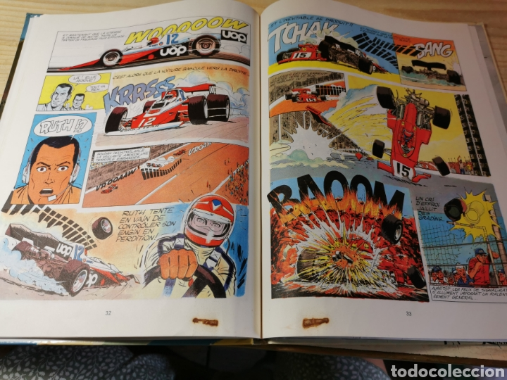 Cómics: MICHELVAILLANT. LE SECRET DE STEVE WARSON - JEAN GRATON - ED. DARGAUD 1978 - Foto 4 - 277281273