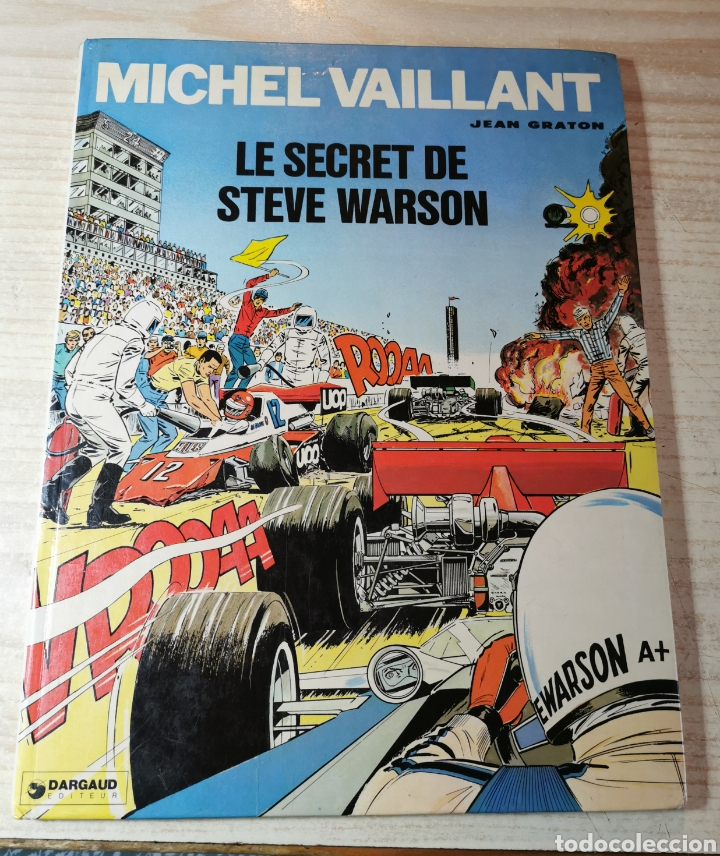 MICHELVAILLANT. LE SECRET DE STEVE WARSON - JEAN GRATON - ED. DARGAUD 1978 (Tebeos y Comics - Comics Lengua Extranjera - Comics Europeos)
