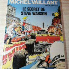 Cómics: MICHELVAILLANT. LE SECRET DE STEVE WARSON - JEAN GRATON - ED. DARGAUD 1978. Lote 277281273