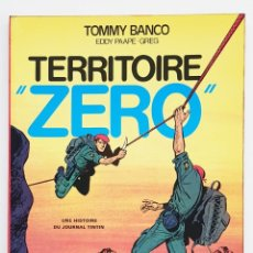 Cómics: TOMMY BANCO TERRITOIRE ZERO - COLLECTION JEUNE EUROPE - 1974 - EXCELENTE. Lote 277478078