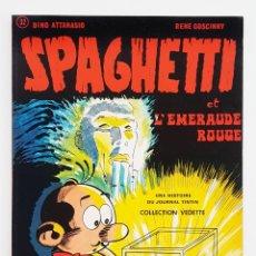 Cómics: SPAGUETTI - COLLECTION VEDETTE - ATTANASIO & GOSCINNY - 1974 - DARGAUD - EXCELENTE. Lote 277494388