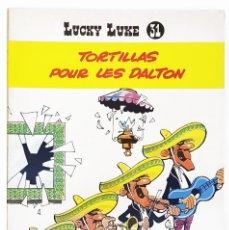 Cómics: LUCKY LUKE Nº 31 TORTILLAS POUR LES DALTON - MORRIS & GOSCINNY - DUPUIS - 1970. Lote 277521378