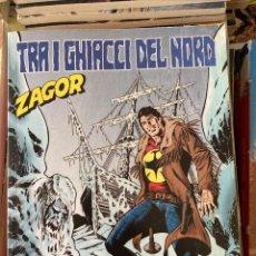 Cómics: ZAGOR N.671 TRA I GHIACCI DEL NORD - BONELLI. Lote 277725788