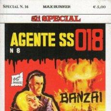 Cómics: MAGNUS & BUNKER - DENNIS COBB AGENTE SS 018 - SPECIAL N.16 - MAX BUNKER PRESS. Lote 277725808