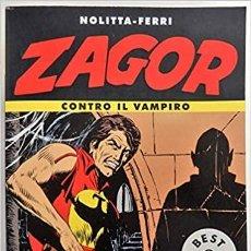 Cómics: ZAGOR CONTRO IL VAMPIRO - NOLITTA FERRI - BEST SELLER MONDADORI N.627 - BONELLI. Lote 277725823