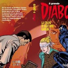Cómics: IL GRANDE DIABOLIK - LA COLPA DI GUSTAVO GARIAN 1-2015 - ASTORINA. Lote 277725838