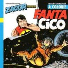 Cómics: ZAGOR PRESENTA FANTA CICO N.5 A COLORI - BONELLI. Lote 277725843